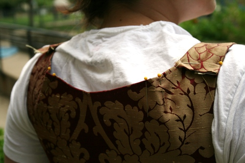 issues with the bodice