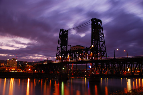 89.365 Steel Bridge at Night