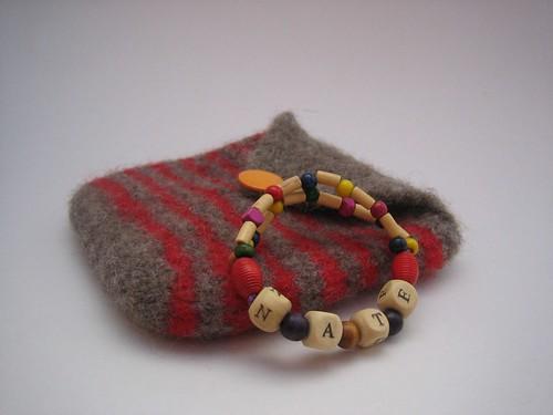 bracelet & pouch