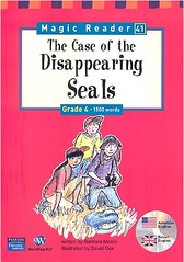 Book cover - The Case of the Disappearing Seals