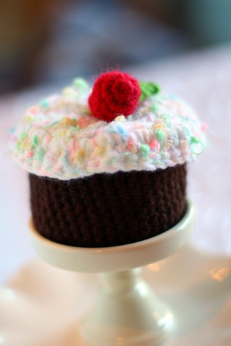 Crocheted Cupcake