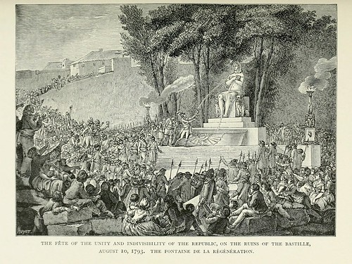 017-Fiesta de la unidad de la Republica en las ruinas de la Bastilla 1793-Paris from the earliest period to the present day 1902