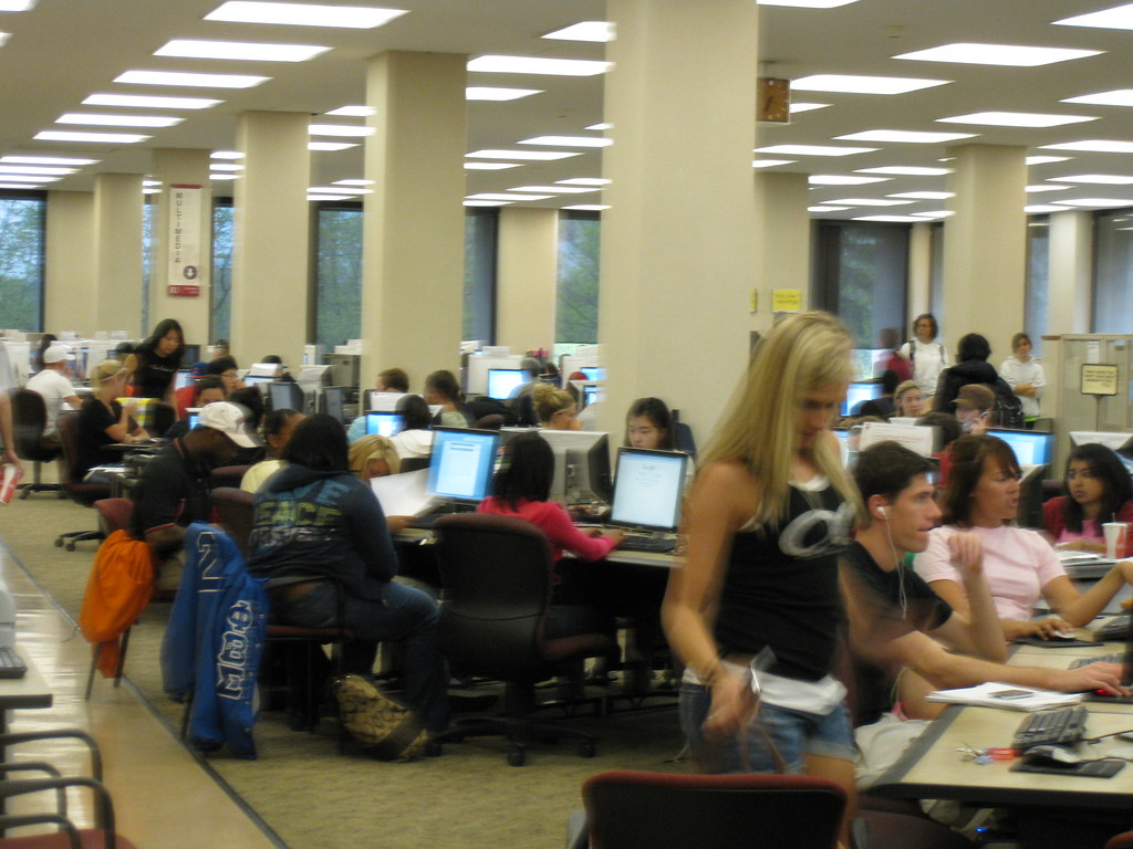 Individual Workstations in the Information Commons