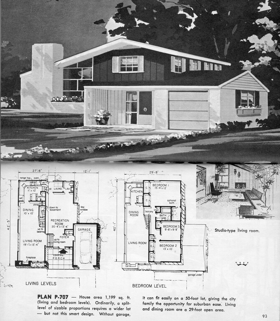 The World S Best Photos Of Houseplans And Midcenturysplitlevel