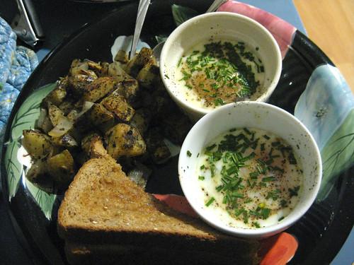 Oeufs en cocotte recipe - 8