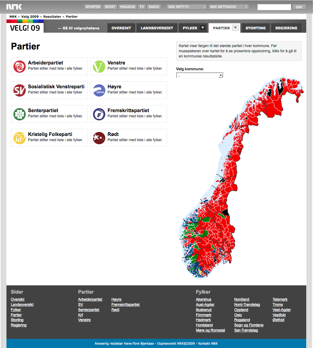 valgresultat 2017 nordland