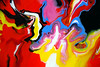 Abstract Colours Fluid Painting by markchadwickart
