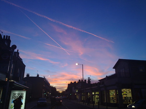 The sky over Teddington