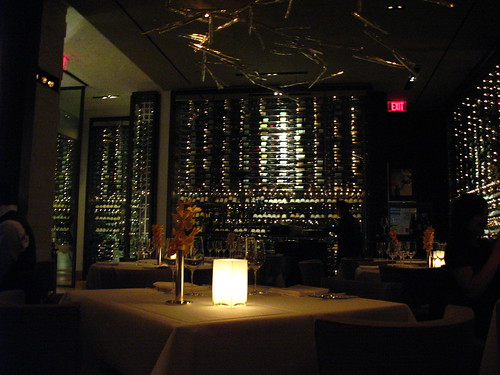 Interno del ristorante Asiate - New York