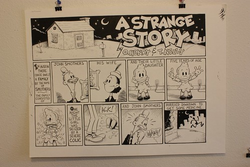 "Art For Sale: Graphic Classics: O.Henry ""A Strange Story"" page 1A"