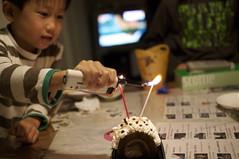 誕生ケーキ for お父ちゃん