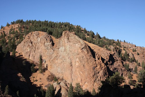 The beautiful red rocks of Colorado.  I will miss this when we leave.