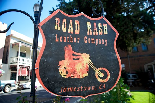 Jamestown, CA: Road Rash