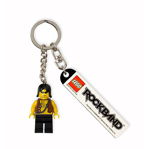 LEGO Rock Band Keychain