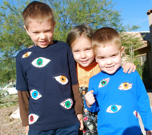 Painted Eye Shirts