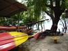 The kayaks.