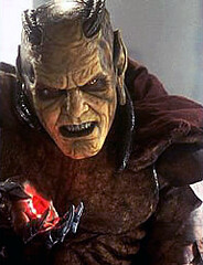The Djinn of The Wishmaster horror movie icon