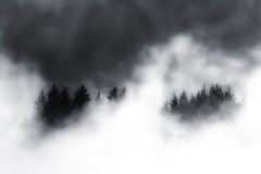 Mist Lifting (aha42   tehaha) Tags: mist norway fog norge bergen noreg nikond60 overtheexcellence colorefexpro30 nikkor70300mmf4556gafsvr nikoncapturenx2
