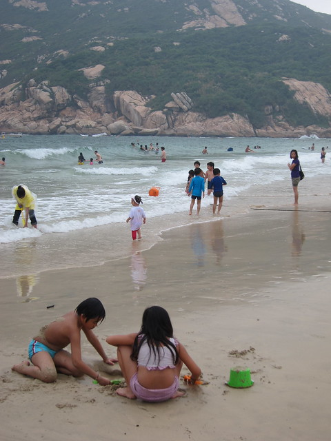 Summer Sunday At Shek O Beach