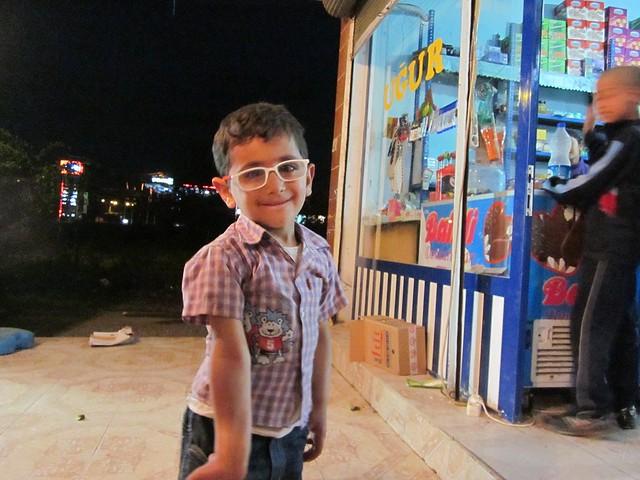 Cute Kurdish child.