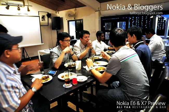 Nokia E6 Nokia X7