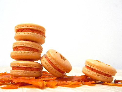 Mango Macarons 2