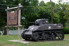M-5 Stuart tank in front of the Somerset New Jersey National Guard Armory (Sheena 2.0) Tags: usa america newjersey nj somerset usarmy somersetcounty 07960 newjerseynationalguard zip07960 stuarttank njarng armyoftheunitedstates sheena20 allrightsreservedsheenachi sheenachi newjerseynationalguardarmory americancarfoundryco lighttankm3 somersetnewjerseynationalguardarmory rochswitlik josephkbrennan 42ndregionalsupportgroup 42ndrsg50thchem50thbst lighttankm5