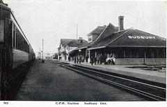 Sudbury - CPR Station C1925 (363FroodRd / 573PineSt) Tags: sudbury sudburyon