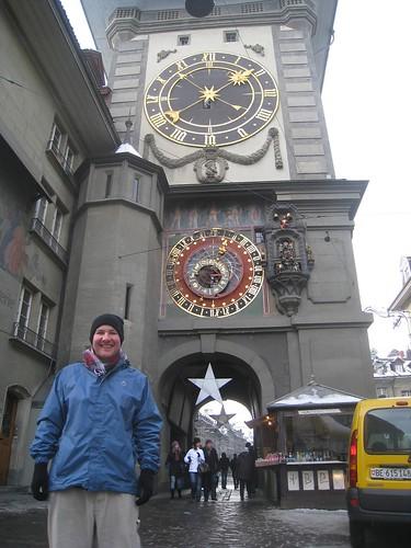 City's main clock tower