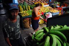 Market scene (daveblume) Tags: fruit market venezuela sancristobal sweeping vslsel