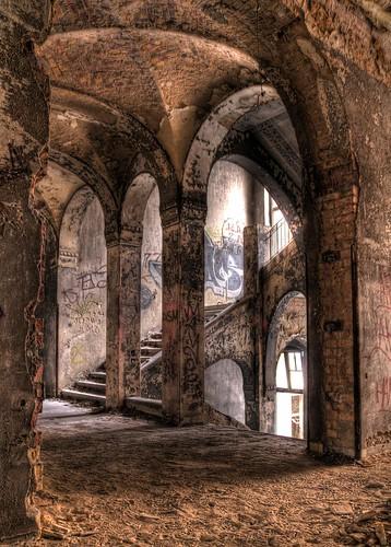 Beelitzer Heilanstalt - Ruine