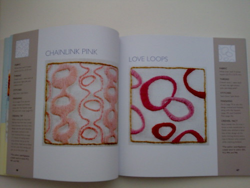 """Page of """"The New Crewel"""" book"""