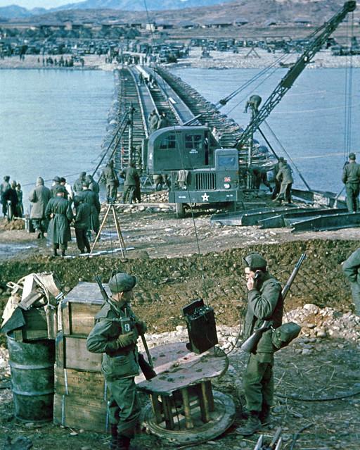 Korean War - 111-C-6469  9th Engineer Battalion  X Corps by US Army Korea - IMCOM
