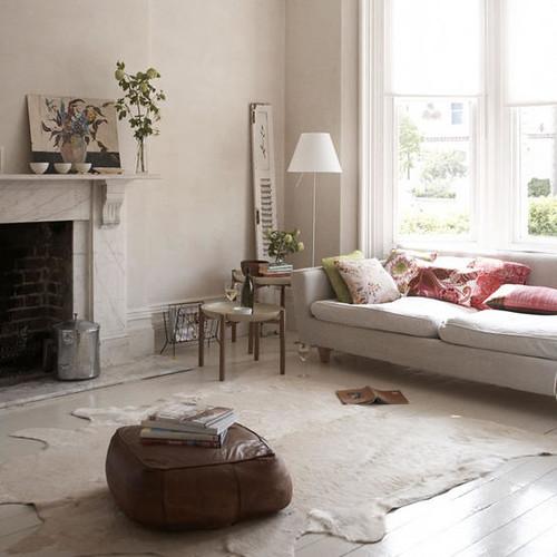 living etc. living - cream and colour pillows