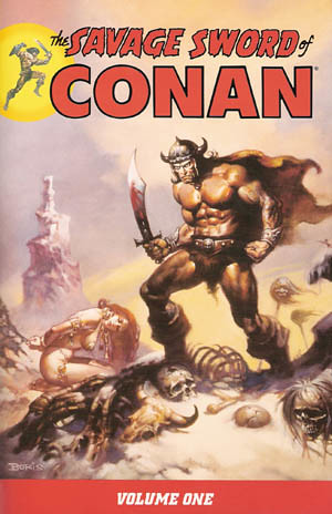 Savage Sword of Conan cover