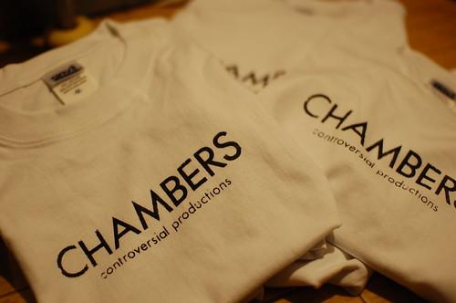 CHAMBERS T-SH(WHITE)
