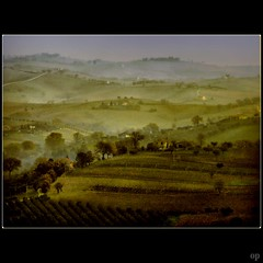Hills of Home (Osvaldo_Zoom) Tags: italy rural landscape country hills marche macerata leopardi
