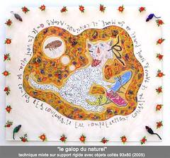 Le galop du naturel (louisphilippevivien) Tags: painting paint rawart dessin peinture artbrut tableau toile peintre artsingulier figurationlibre louisphilippevivien