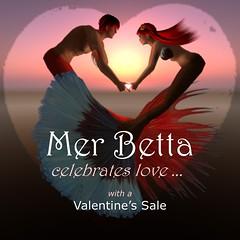 Mer Betta Valentine ad - sunset