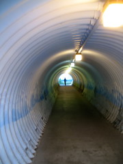 2008 - 06 - 20 - corrugated tunnel (Mississippi Snopes) Tags: colorado tunnel keystone tunnelvision corrugatedmetal inthetunnel lightattheend