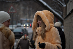 Olya & Marysya (Elinalipona) Tags: winter girls people russia moscow february russian 2009 russiangirls