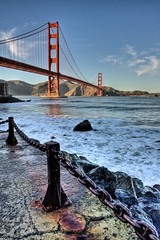 c'est la vie (McDeez) Tags: sanfrancisco california bridge bayarea norcal hdr highdynamicrange internationalorange 3xp goldenstatebridge