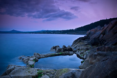 The Ramparts (Vico Baths), Killiney (Cill Inon Linn) Bay, Dublin, Ireland (jogorman) Tags: county ireland sunset sea dublin irish seascape pool evening coast amazing twilight nikon bath dusk tide eire sugar baths ramparts coastline loaf sugarloaf tidepool tidal vico dalkey d300 killiney greatcamera nikond300rulez
