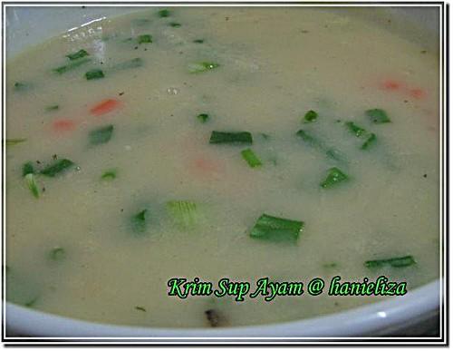 krim sup ayam