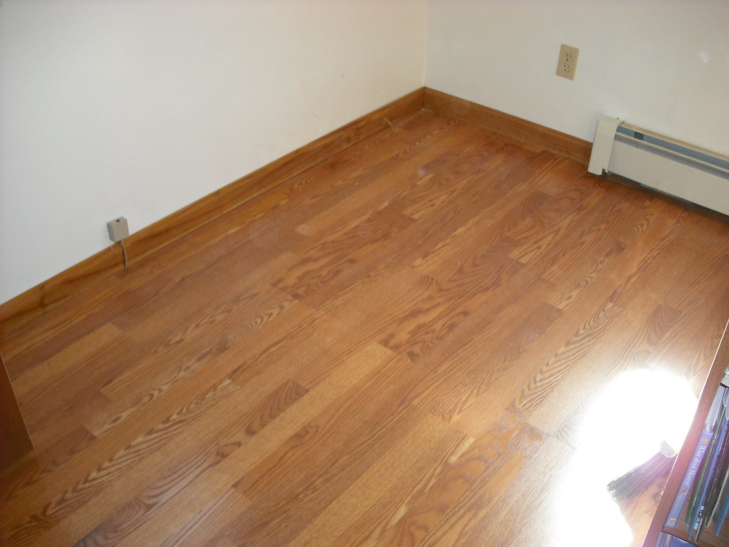 laminate and hardwood floors