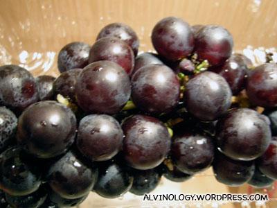 Hokkaido grapes