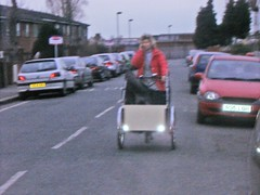 dog tricycle moron wally streatham baddriver arsehole dogcarrier