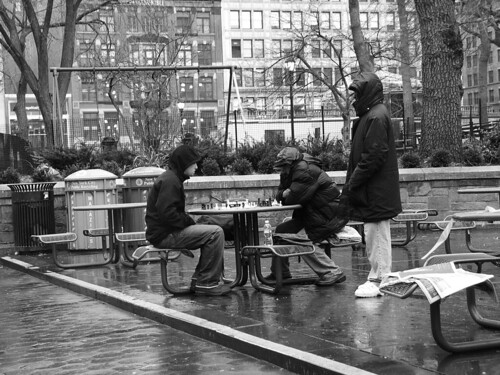 Chess, Union Square NYC