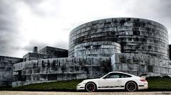 GT3RS. (Denniske) Tags: white black photoshoot 911 porsche blanche zwart wit weiss rs schwarz gt3 997 noire europipe gt3rs