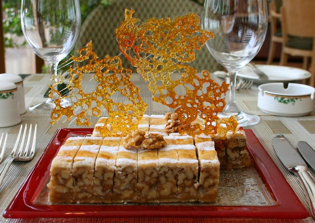 Bündner Nusstorte (Bündner Nut Pie)